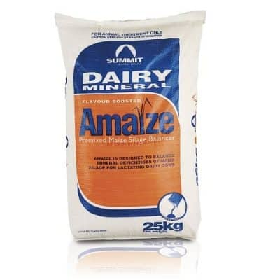 Summit Dairy Mineral Amaize in a 25kg bag