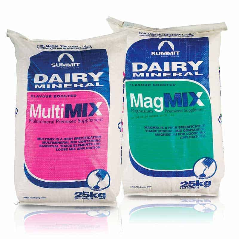 Summit Dairy Minerals – MultiMix and MagMix 25kg