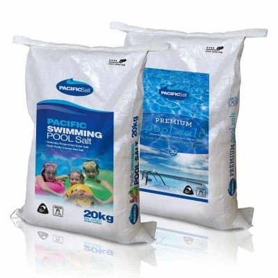Swimming Pool Salt - Pacific Pool Salt and Premium Pool Salt 20kg