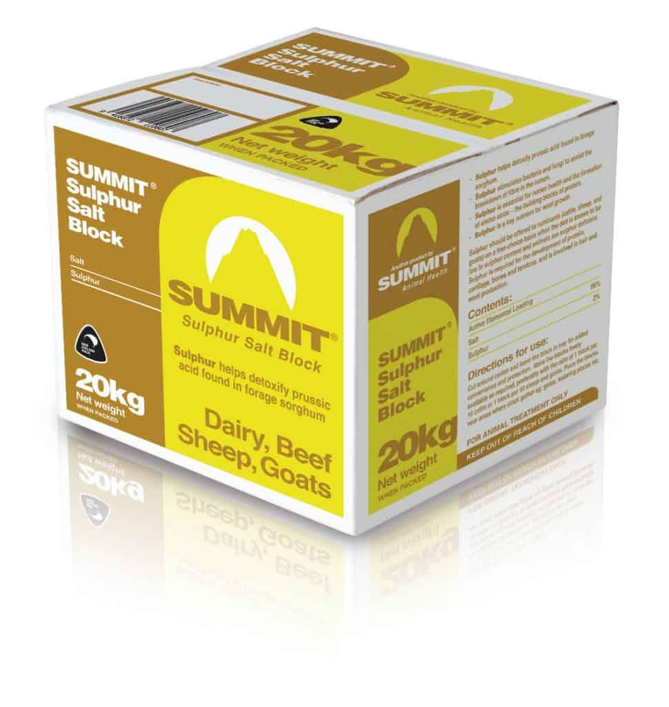 Summit Sulphur Block 20kg