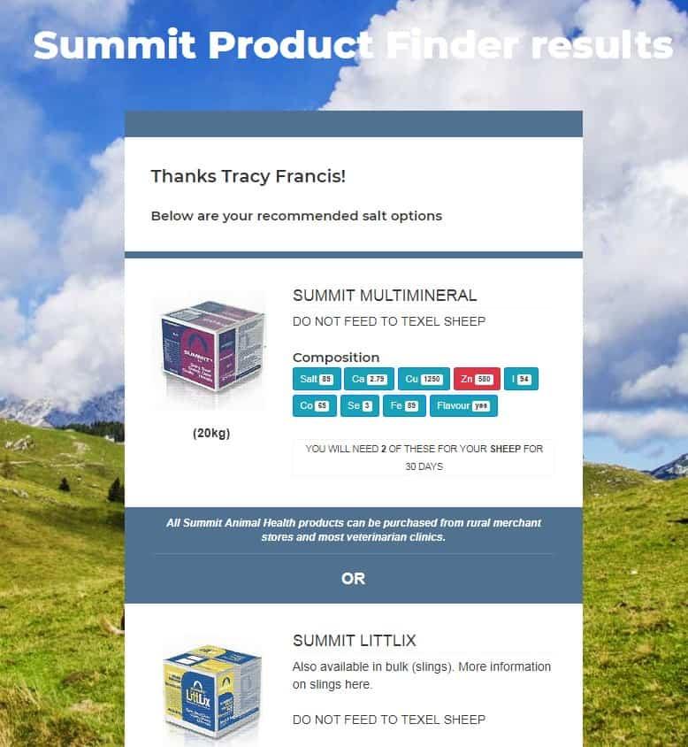 Website Updates - New Product Finder